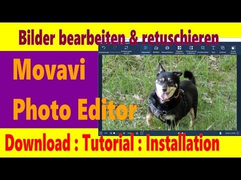 Gute Bildbearbeitungssoftware: Movavi Photo Editor Download installieren & testen