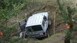 preview picture of video 'TRIAL 4x4 SILESIAN PUCHAR JAWORZNO 2008 OFF ROAD 2'
