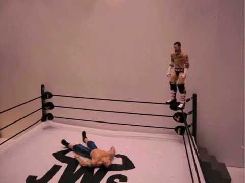 JWS - CM Punk's Diving Elbow Drop