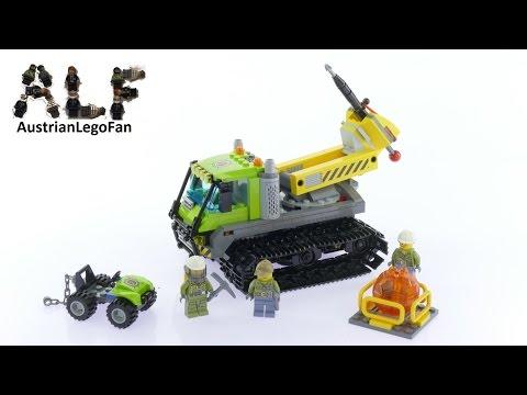 Vidéo LEGO City 60122 : La foreuse à chenilles