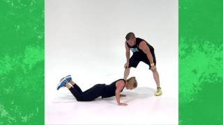 This 45-Minute Burn Boot Camp Workout Builds Strength and Stamina by Health Magazine