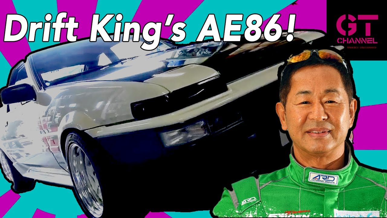 Toyota AE86 Drift King Keiichi Tsuchiya's Sprinter Trueno - Presented by MotaGare Global