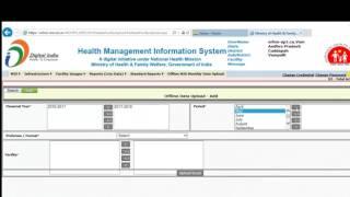 How to upload HMIS reports offline