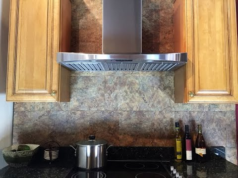 KOBE Wall Mount (with low hood body height) Installation