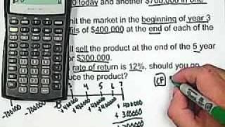 15. BA II Plus Calculator: Cash Flow - Net Present Value
