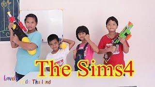 ภารกิจปราบผี The Sims4 รวมมิตรละครสั้น !!! น้องดาว