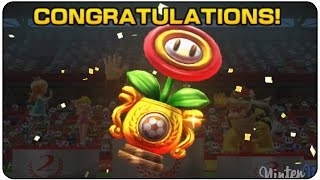 Mario Sports Superstars (3DS) - Football - Flower Cup