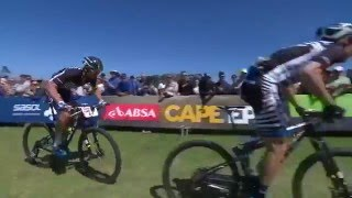 Highlights of the Absa Cape Epic Mountain Bike race Prologue