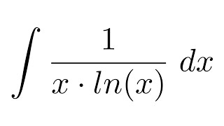 Integral of 1/(x*ln(x)) (substitution)