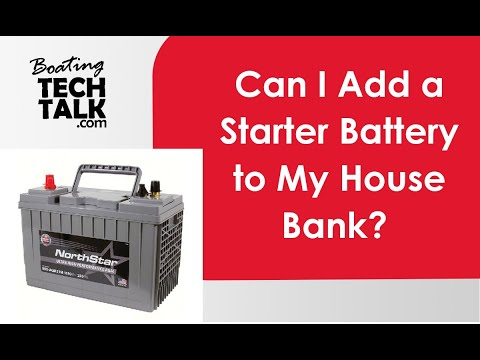 Why You Can't Use a Starter Battery as a Deep Cycle House Battery?