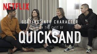 Hanna Ardhén, Felix Sandman And William Spetz Talk Filming Challenging Scenes In Quicksand | Netflix