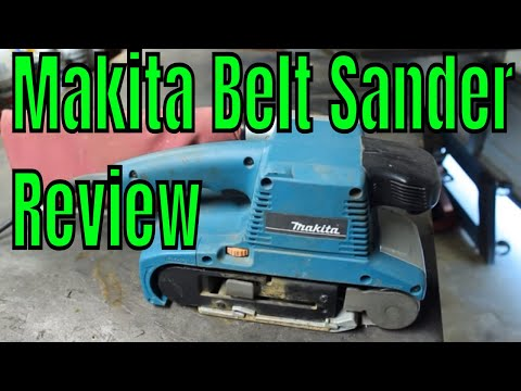 Makita Belt Sander Review