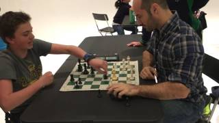 International Chess Master Greg Shahade vs 13 year old Hans Niemann