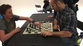 International Chess Master Greg Shahade vs 13 year old Hans Niemann