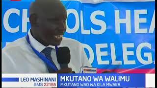 Walimu wakuu wa shule za msingi wakutana Mombasa