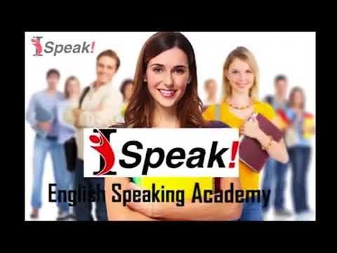 VOICE OVER fr Ad of I-Speak English Speaking Academy