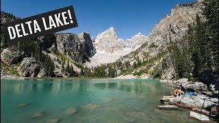 Grand Teton National Park Day 2: Hiking To Delta Lake!