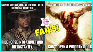 Hilarious Examples Of Video Game Logic Fails