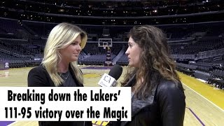 Breaking down the Lakers' 111-95 victory over the Magic.