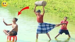 Top Challenging New Funny Videos 2019 || Best Comedy Video Episode -- 16 || Monirul Official