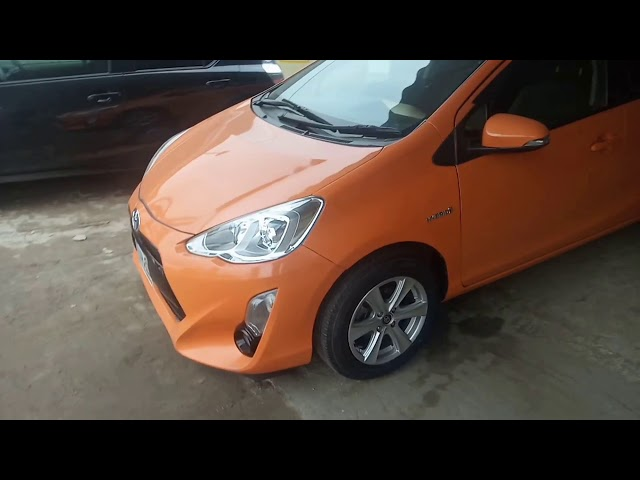 Toyota Aqua G LED Soft Leather Selection  2015 for Sale in Gujranwala