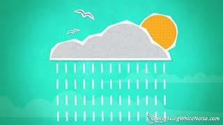 Spring Showers Rain Sounds   Relax, Study, Sleep   Rainstorm White Noise 10 Hours
