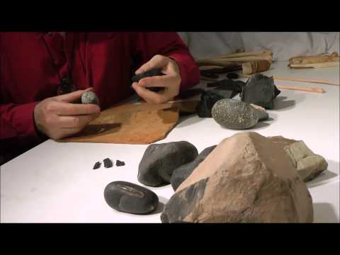 Making Stone Flake Tools