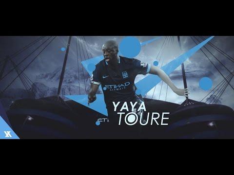 Yaya Touré - The King - Legend - Amazing Goals & Skills - 2016 - HD