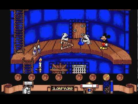 Mickey Mouse Amiga
