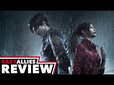 Resident Evil 2 (2019) - Easy Allies Review - YouTube video thumbnail