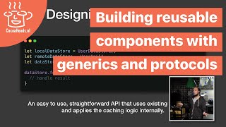 Building reusable components with generics and protocols, Donny Wals (English)