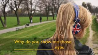 Apprendre l'anglais en s'amusant - Sad Eyes, Bat for Lashes, version 1
