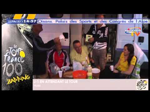 En attandant le tour de France à l'Alpe d'Huez  - © Alpe d'Huez TV