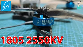 BetaFPV 1805 2550KV Motors - Thrust Tests & Flight Footage