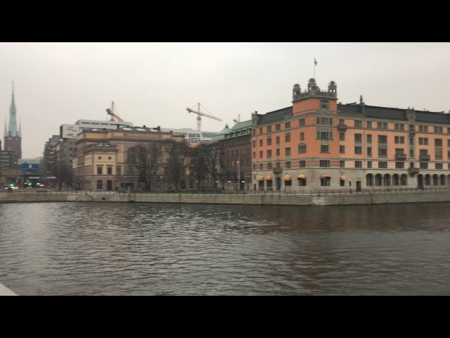 A Wander through Stockholm