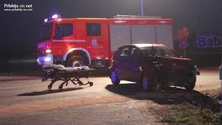 Prometna nesreča na cesti Ljutomer - Krapje
