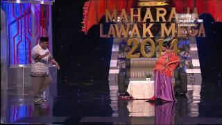 Maharaja Lawak Mega 2014   Episod 2 (Kerusi Panas)