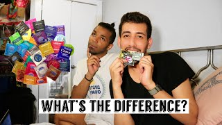 Comparing condom sizes! Is there a difference?