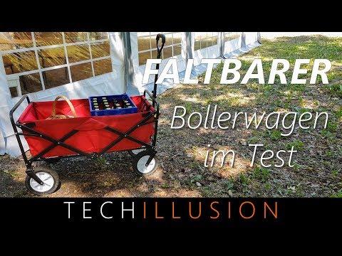 🛠FALTBARER Bollerwagen im Test - Meister Bollerwagen - Review & Test