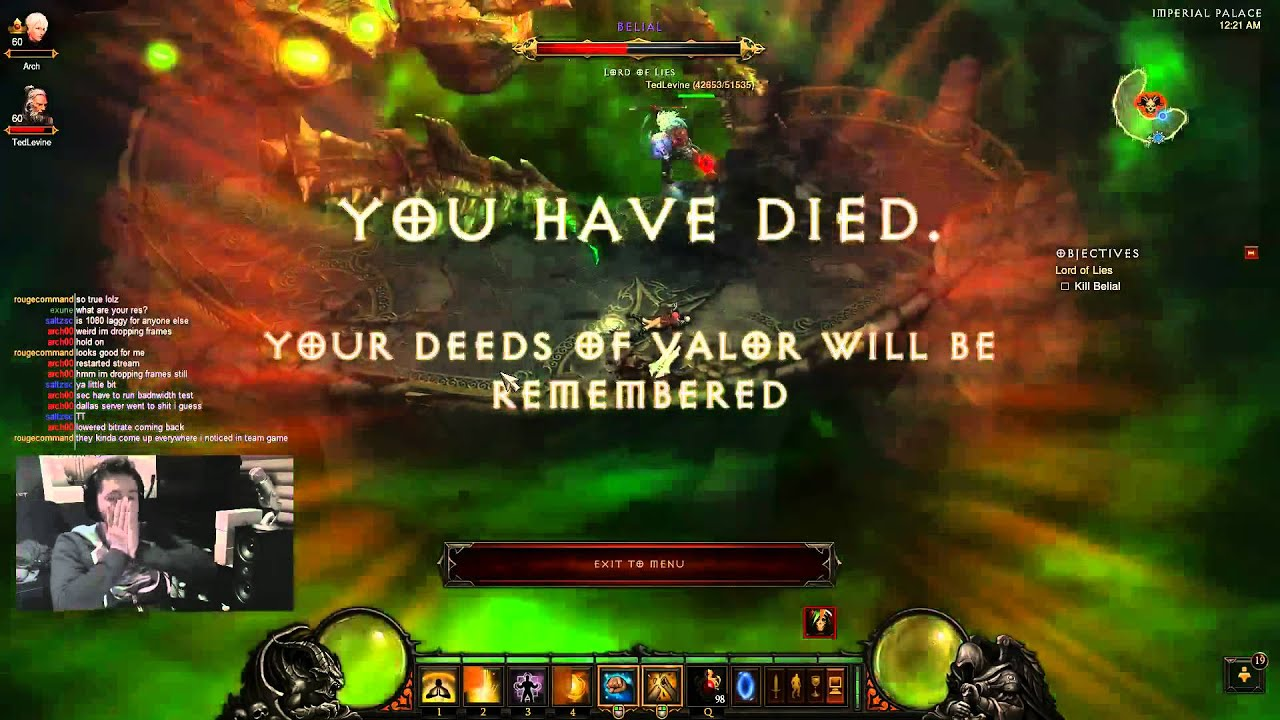 This Is What It Looks Like To Lose Your Level 60 Diablo III Character Forever