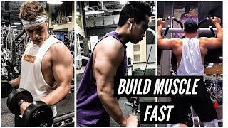 TOP 3 TIPS TO BUILD MUSCLE MASS