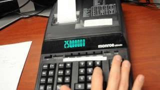 monroe calculator training