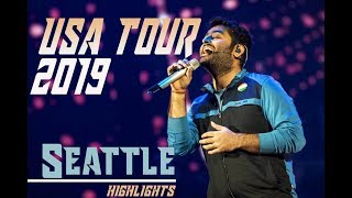 Arijit Singh USA Tour 2019 | Seattle | Magical Voice | Highlights | aLive
