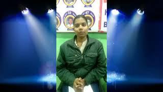 NEET Varanasi Topper Shivangi Student of MRS TUTORIALS