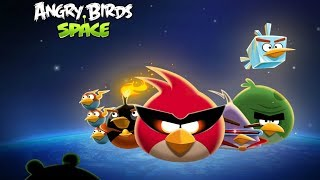 Angry Birds Space Skill Game Walkthrough All Levels 1-10