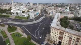 Открытие Павловской площади в Харькове после реконструкции