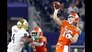 2019 CFP Semi Final #1 Cotton Bowl  #3 Notre Dame vs  #2 Clemson