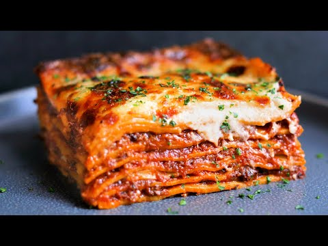 WOW: Dude Makes A 100 Hour Lasagna
