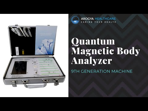 9G Quantum Resonance Magnetic Analyzer (With Therapy)