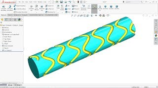 Solidworks Weldments tutorial steel structure with welding